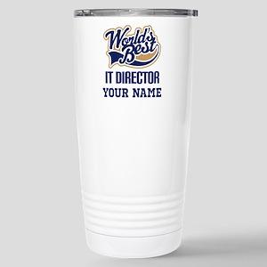 IT Director Personalized Gift Travel Mug