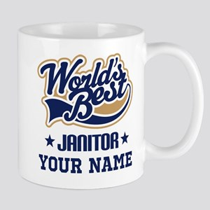 Janitor Personalized Gift Mugs