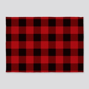 Cottage Buffalo Plaid Lumberjack 5'x7'Area Rug
