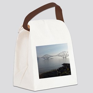Forth Rail Bridge Canvas Lunch Bag