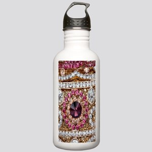 girly bohemian red rhi Stainless Water Bottle 1.0L