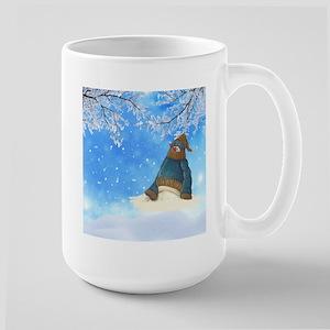 Half Melted Snowman Mugs