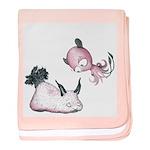 Little Moon Baby Blanket (bunny Sea Slug)