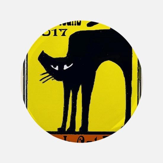 Black Cat Festival Button