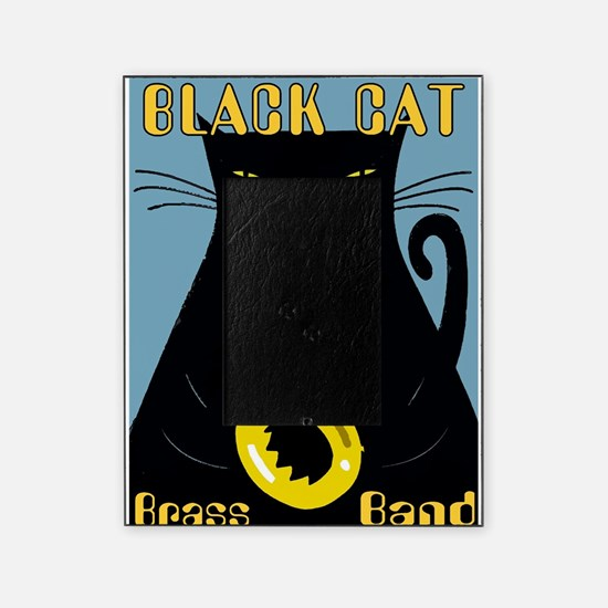 Black Cat Brass Band Picture Frame