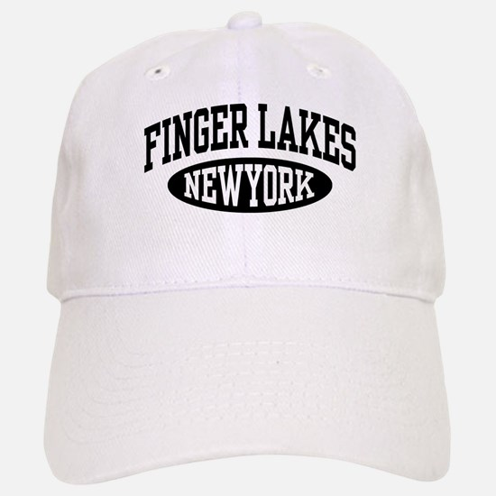 Finger Lakes New York Baseball Baseball Cap
