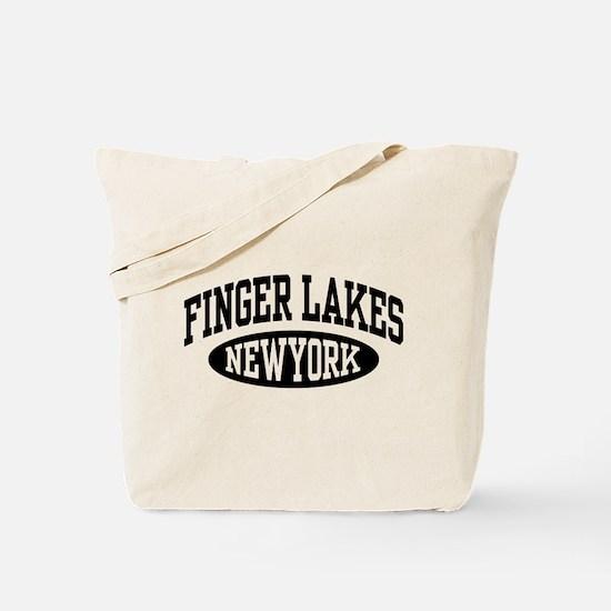 Finger Lakes New York Tote Bag