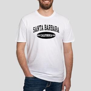Santa Barbara Fitted T-Shirt
