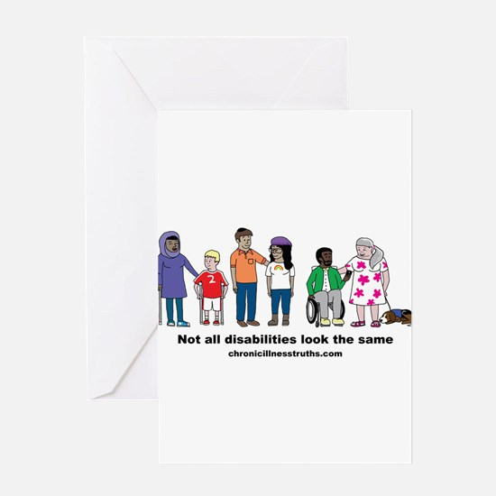 Not all disabilities... Greeting Cards
