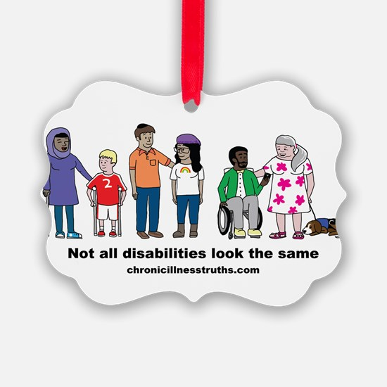 Not all disabilities... Ornament