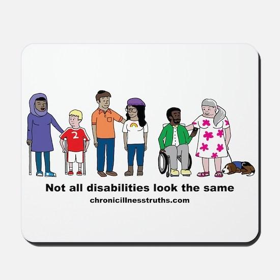 Not all disabilities... Mousepad