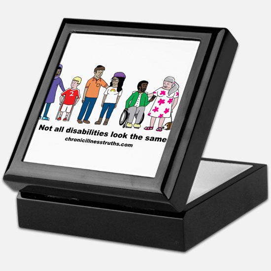 Not all disabilities... Keepsake Box