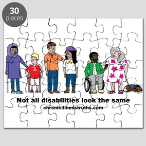 Not all disabilities... Puzzle