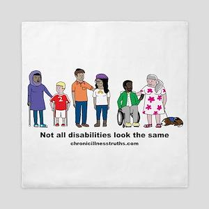 Not all disabilities... Queen Duvet