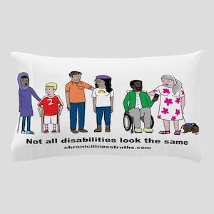 Not all disabilities... Pillow Case