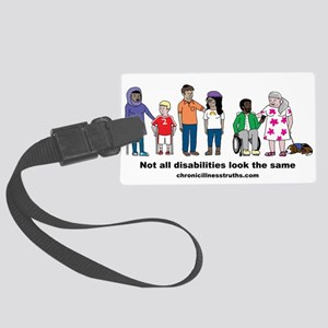 Not all disabilities... Luggage Tag