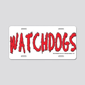 Watchdogs Aluminum License Plate