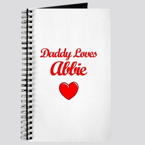 Daddy Loves Abbie Journal