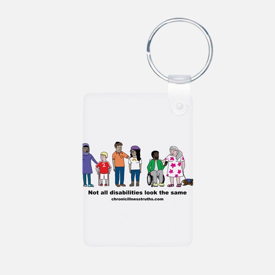 Not all disabilities... Keychains