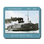 City Of Detroit Iii Mousepad