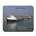 John A France Mousepad