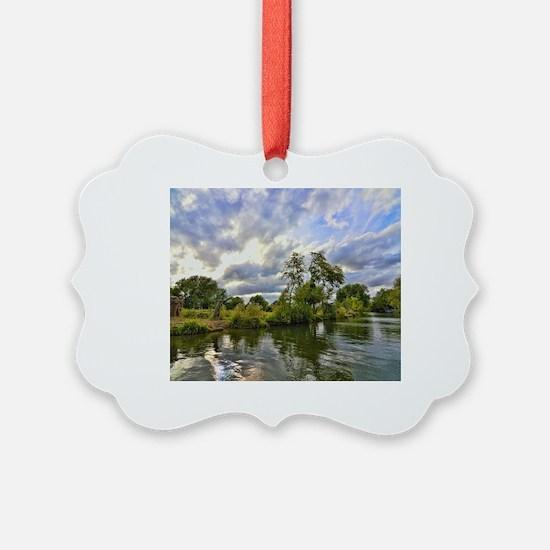Unique Oxford england Ornament