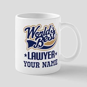 Lawyer Personalized Gift Mugs
