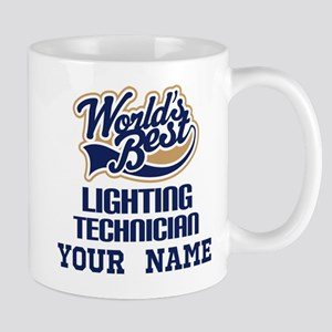 Lighting Technician Personalized Gift Mugs