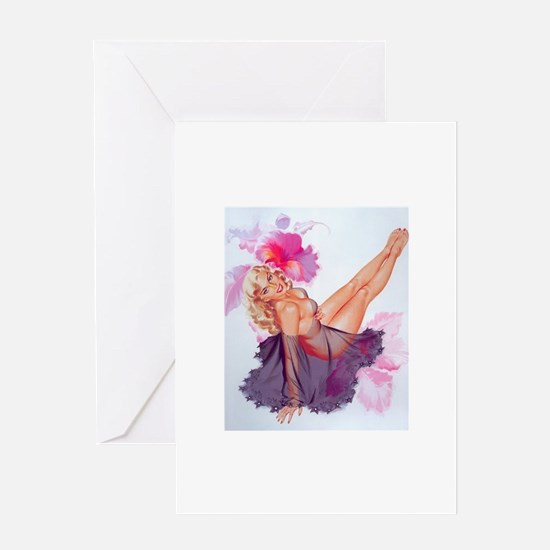 pinup Greeting Cards