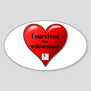 I Survived the Widowmaker Sticker
