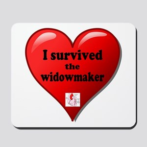 I Survived the Widowmaker Mousepad
