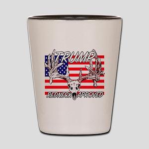 Trump Redneck Approved 2 Shot Glass