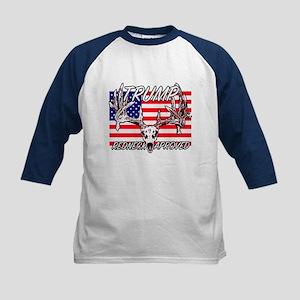 Trump Redneck Approved 2 Kids Baseball Jersey