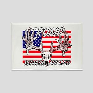 Trump Redneck Approved 2 Rectangle Magnet