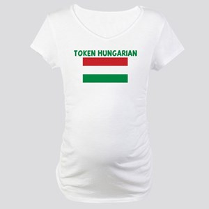 TOKEN HUNGARIAN Maternity T-Shirt