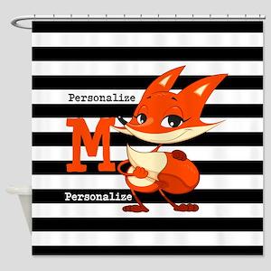 Cute Little Fox Custom Shower Curtain