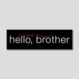 TVD Hello Brother Car Magnet 10 x 3