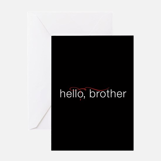 TVD Hello Brother Greeting Cards