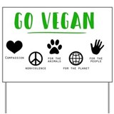 Vegan Yard Signs