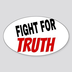 Fight For Truth Sticker