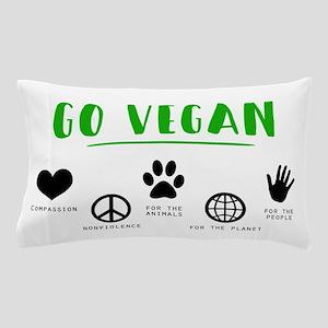 Go Vegan Pillow Case