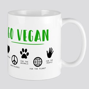 Go Vegan Mugs