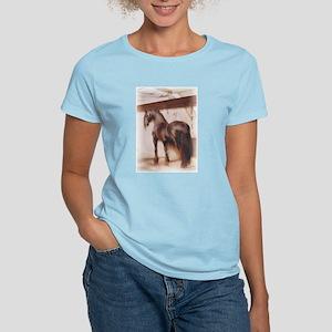 """""""Vintage Friesian"""" Women's Light T-Shirt"""