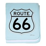 route 66 6 baby blanket