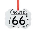 route 66 6 Picture Ornament