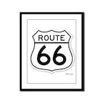 route 66 6 Framed Panel Print