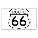 route 66 6 Sticker