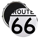 route 66 6 Magnets