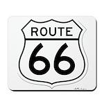 route 66 6 Mousepad
