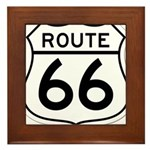 route 66 6 Framed Tile